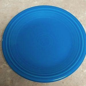 Fiestaware dessert/salad plate Peacock Blue